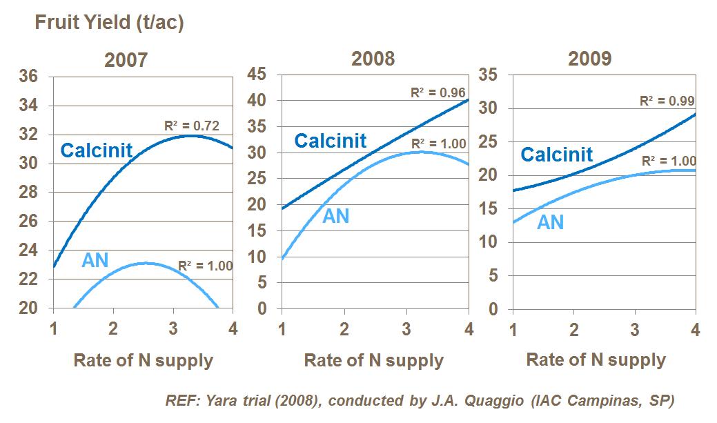 Role Of Calcium In Citrus Production Yara United States